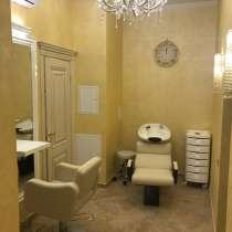 Парикмахерское кресло в аренду в салоне бизнес класса, в Москве