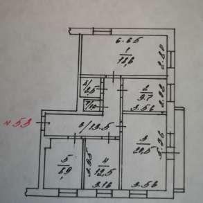 Продам 4 комнатную квартиру, в Междуреченске