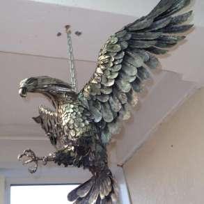 """Скульптура из металла""""Парящий орел"""", в Краснодаре"""