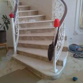 Лестницы из натурального камня мрамора и гранита, в Шатуре