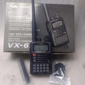 Радиостанция Yaesu VX-6R с дальностью до 10 км, в Долгопрудном