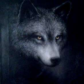 "Картина ""Волк"" на холсте 30х40, в Новороссийске"