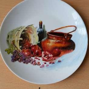 Керамические и фарфоровые изделия с художественной росписью, в г.Тбилиси