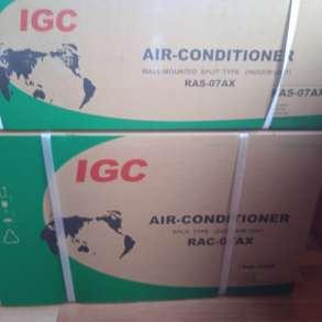Настенный кондиционер (сплит-система) IGC RAS/RAC-07AX, в Балашихе