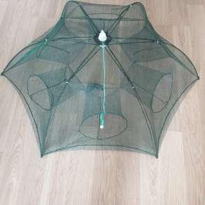 Раколовка зонт 6 входов, в Волгограде
