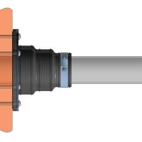 Муфты проходные для труб, кабеля и кессонов, в Заречного