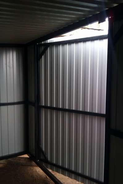 Хозблоки металлические разборные с доставкой в Владимире
