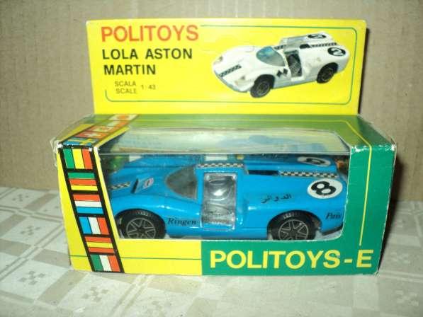 Масштабная модель автомобиля LOLA