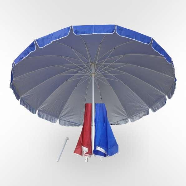 Зонт для уличной торговли круглый диаметром 3 метра