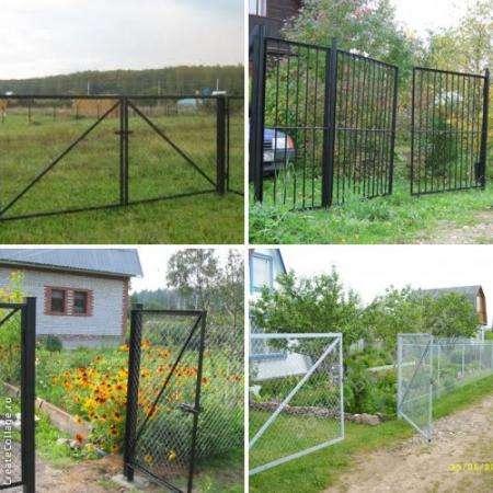Металлические ворота и калитки доставим бесплатно в Твери