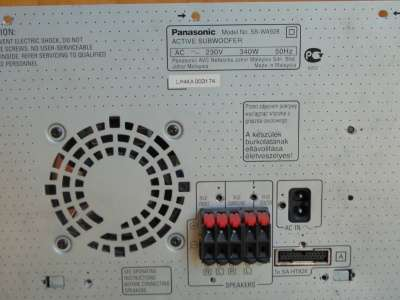 акустическую систему PANASONIC SB-WA928