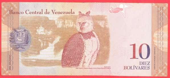 Венесуэла 10 боливаров 2009 г