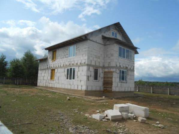 Продается дом под чистовую отделку с участком 10 соток в дер. Павлищево,Можайский район,100 км от МКАД по Минскому шоссе.