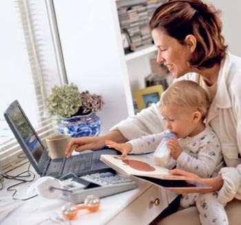 Работа удаленно на дому (желат. женщина)