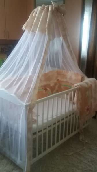 Балдахин и Бортики для детской кроватки