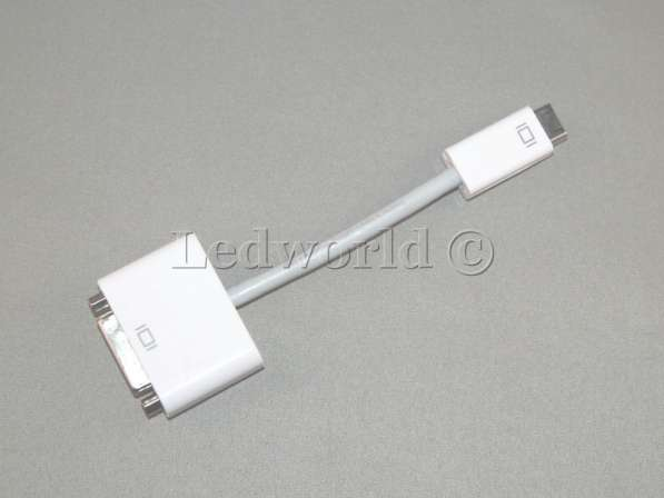 Переходник Mini DVI - DVI для Mac