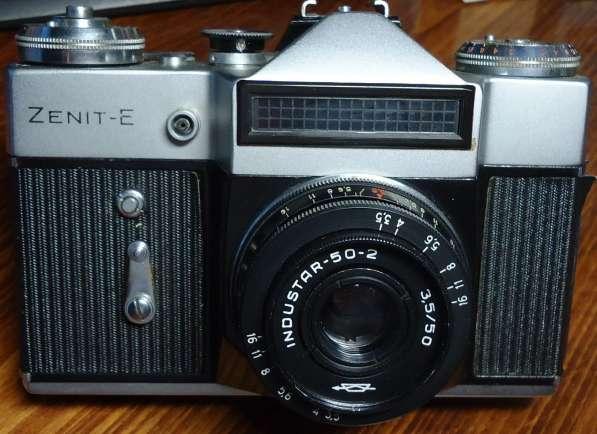 Фотоаппарат ЗЕНИТ-Е с двумя объективами