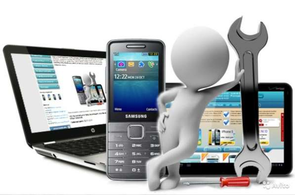 Ремонт сотовых телефонов, планшетов ноутбуков