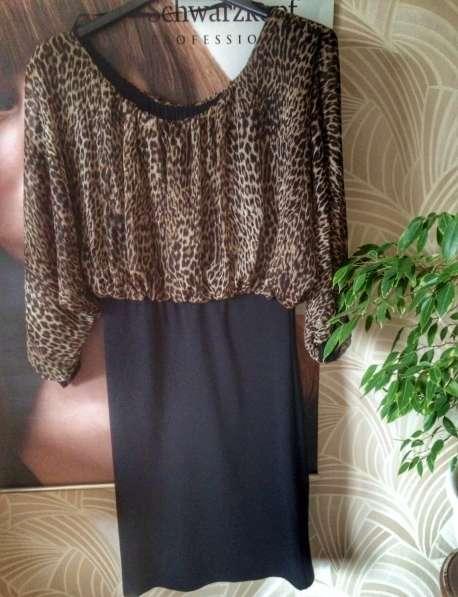 Леопардовое платье. Италия