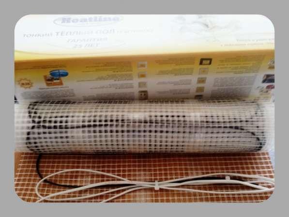 Тёплый пол Heatline-slim. Одножильный мат 450 Вт