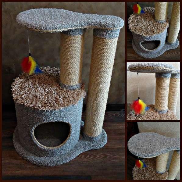Изготовление комплексов и домиков для кошек на заказ в Ростове-на-Дону фото 12