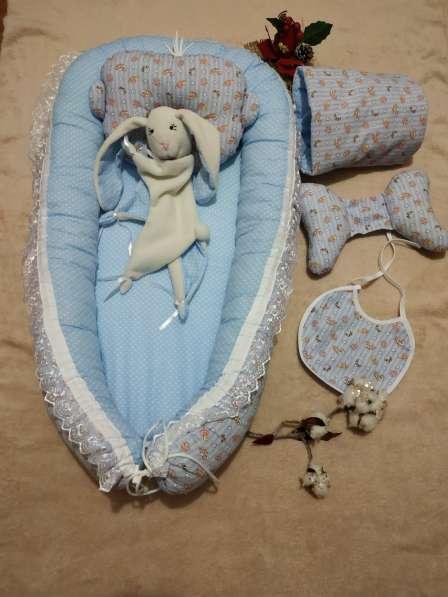 Кокон для новорожденного набор в Краснодаре фото 9