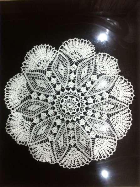 Салфетка белого цвета