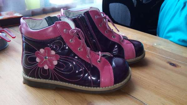 Ортопедические ботинки для девочки,29размер, б. у