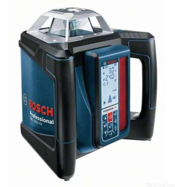 Нивелир лазерный Bosch GRL 500 H + LR 50 Professional ротационный 0601061A00