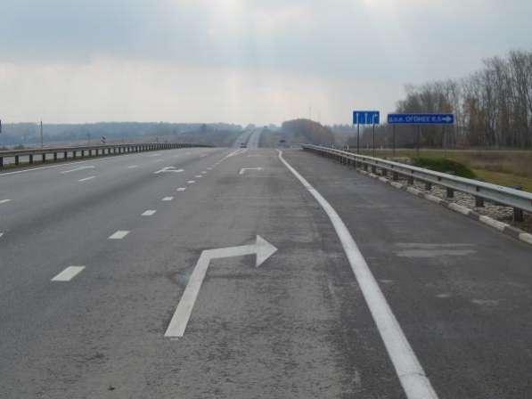 Участки 154 км Каширского шоссе красная линия со съездами