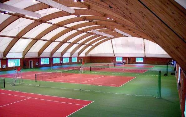 Строительство теннисного корта качественно, по доступной цен в Екатеринбурге фото 4