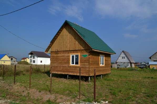 Продам брусовый дом КП Радужный (д. Якуши 21 км от Тюмени)
