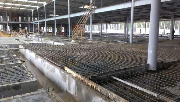 Монолитные работы, коттеджи, ангары, бетон, металлоконструкц