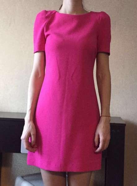 Розовое платье Zara, размер xs