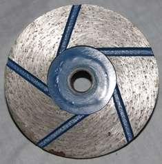Фреза алмаз. торц. 90 мм М14 №1 #30/40