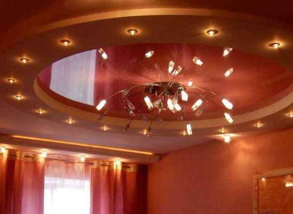 Натяжные потолки LuxeDesign производство и установка в Симферополе фото 3