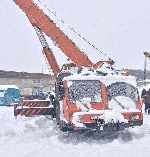 Автокран КАТО; 50 тонн
