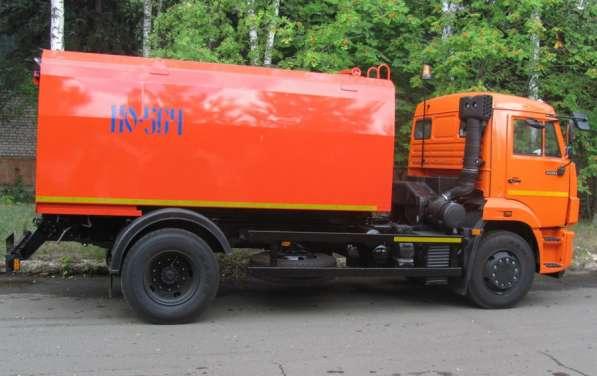 Каналопромывочная КО-564-20 на шасси КАМАЗ