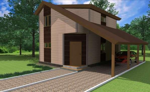 Выполню проекты домов, коттеджей, беседок