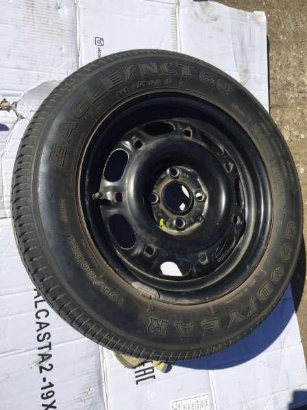 Запасное колесо с диском Фольксваген пассат б/у в Саратове фото 4