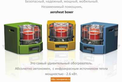 обогреватель Саво Aeroheat HA S2600