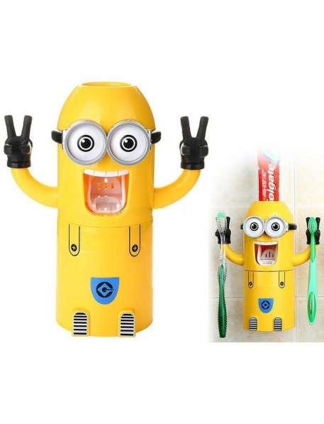 Детский дозатор зубной пасты Миньон