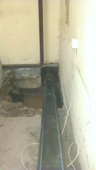 Бестраншейная замена канализации и водостоков, выпусков в Москве фото 14