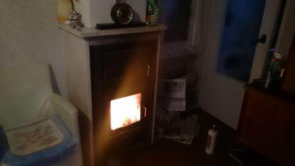 Отопление дома горячим воздухом от камина