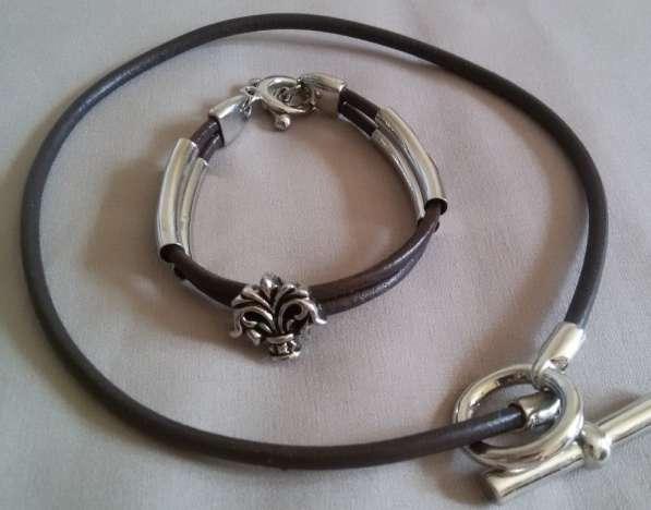 Комплект: браслет и колье