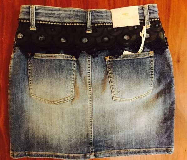 Юбка джинсовая 44. Италия