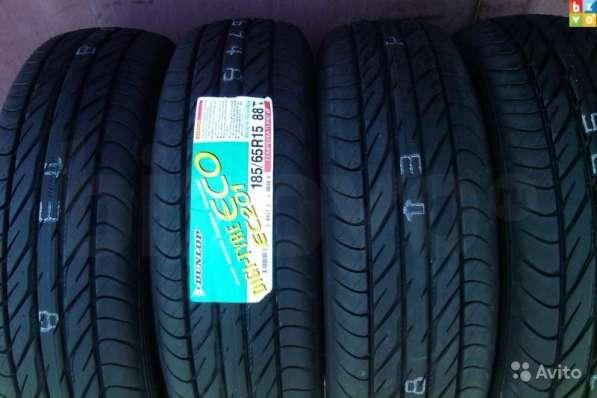 Новые летние Dunlop 185/65 R15 лм704