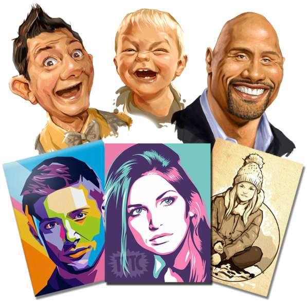 ART портреты по фотографии