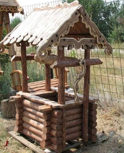 Изготавливаем деревянные колодцы в Ростове-на-Дону фото 6