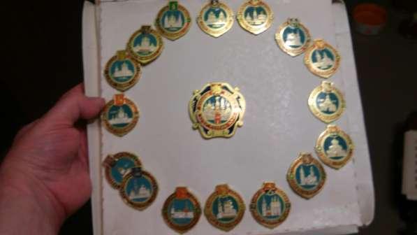 Компелкт значков Золотое кольцо России